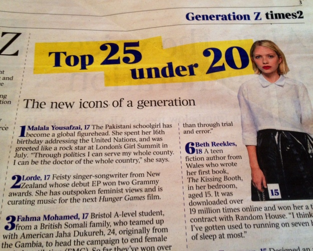 The Times August 2014 close up USE