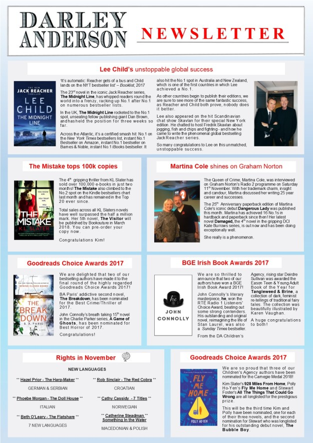 Newsletter Nov17